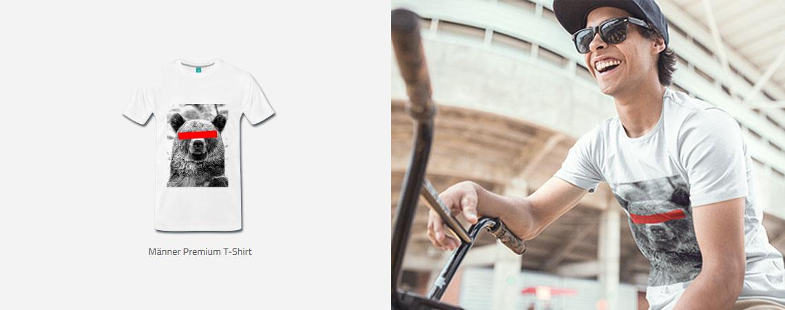 WILDSTER Streetwear T-Shirt aus Deutschland